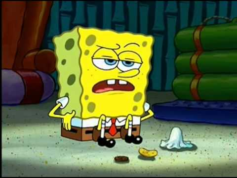 SpongeBob SquarePants dubbed over with Pulp Fiction dialogue - That Video Site.flv