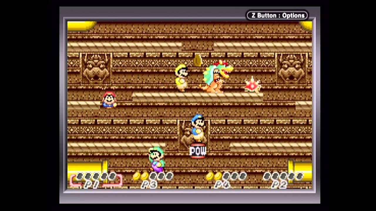 Super Mario Advance - Four-Player Battle Mode (Game Boy ...