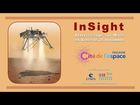 InSight : atterrissage sur Mars en direct - YouTube