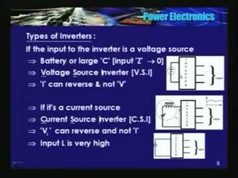 NPTEL :: Electrical Engineering - Power Electronics