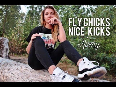 Fly Chicks Nice Kicks – Avery