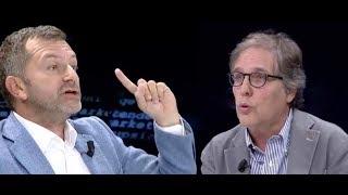 """""""Xhisiela, pengu i politikës"""", debat i ashpër Bushati - Bolino, """"Të Paekspozuarit"""" (04.10.2018)"""