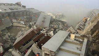 Taiwan earthquake rescue