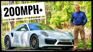 Porsche 911 Turbo S with 580 BHP Explodes off the line with 0-60 in 2.5 seconds