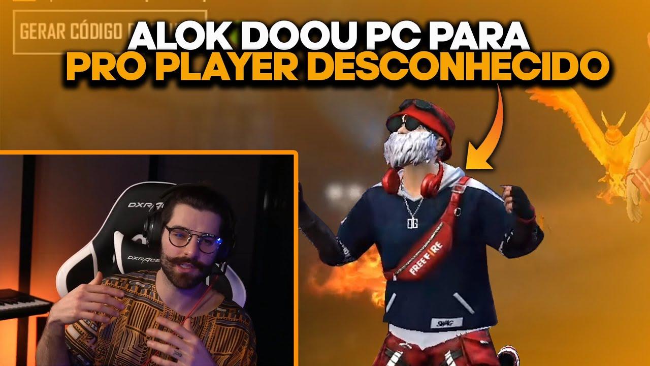DJ ALOK DOA PC PARA PRO PLAYER DESCONHECIDO (Melhores Clips)