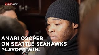 Amari Cooper speaks on Cowboys playoff win over the Seattle Seahawks