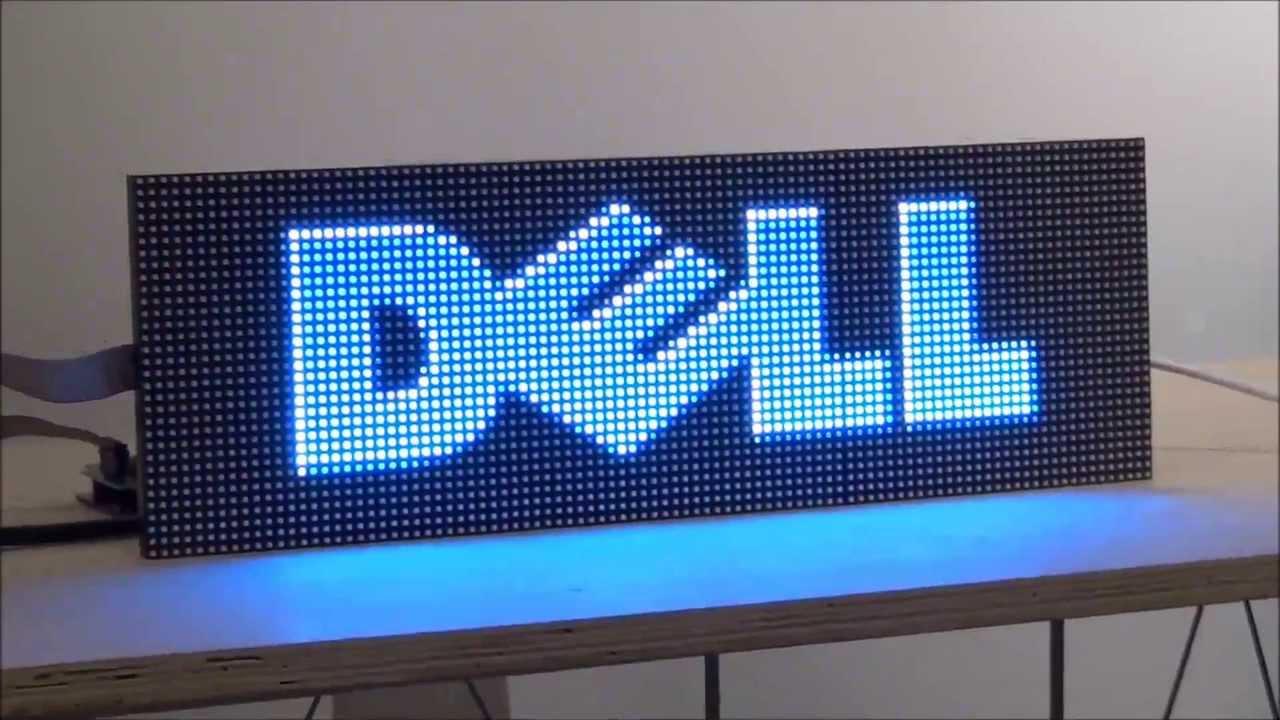 Digital Led Sign Kit Diy 5mm Pixels Full Color