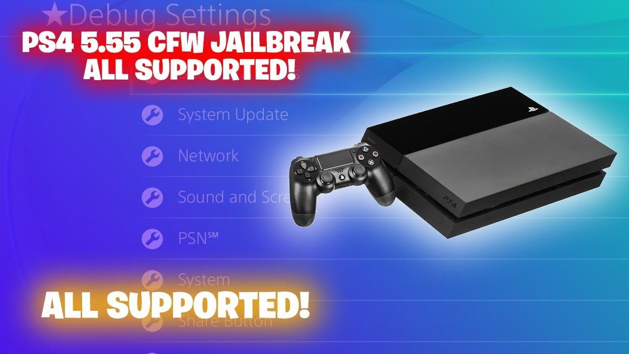 ps4 jailbreak 5 55 cfw