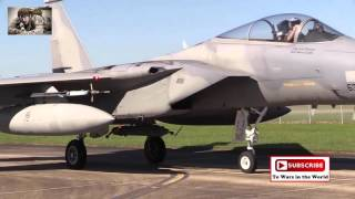 F 15 Eagle Aircrews Crawl Inside & Out Before Launching
