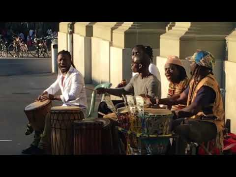 The Best Senegalese Percussion Group in Bern, Switzerland