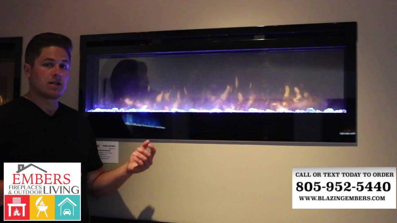 dimplex prism series wall mount electric fireplace review youtube