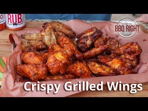 Crispy Grilled Wings on Weber | HowToBBQRight