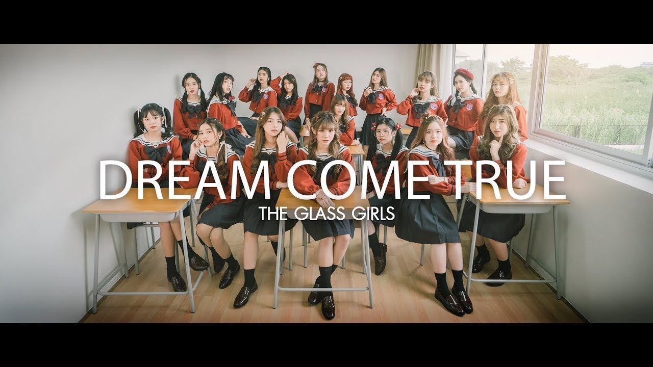 [Music Video] The glass girls : Dream come true [Theme song]