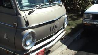 1968 Dodge A108 Van Walk-Around and Test Drive.wmv