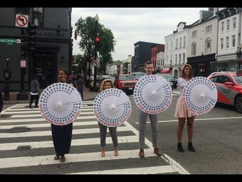Georgetown BID ParasolShare Summer 2016