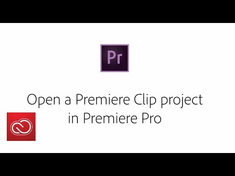 Improved Import From Premiere Clip - Adobe Premiere Pro (2015) | Adobe Creative Cloud