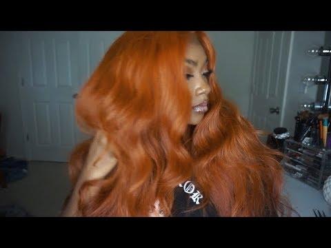 How I DYED my hair COPPER | AUBURN|ORANGE| SZA-inspired for WOC| True Glory Hair
