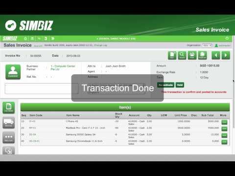 SimBiz Online Accounting Management System
