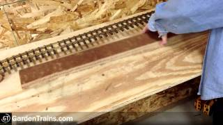 Garden Trains: #012 : Building An Indoor Large Scale Railroad : Freebie Railroad