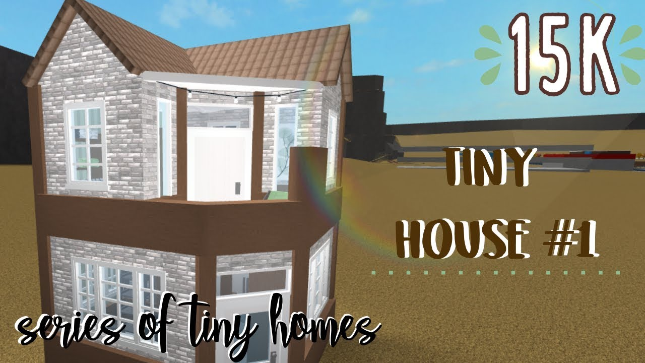 Bloxburg Tiny House 1 Series Of Tiny Homes Youtube