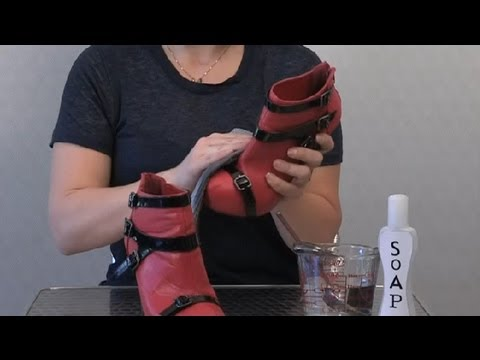How to Clean Pigskin Shoes : Cleaning Shoes