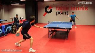 Masa Tenisi Turnuvası Maçı - 32.TT-Rating Turnuvası Final Maçı