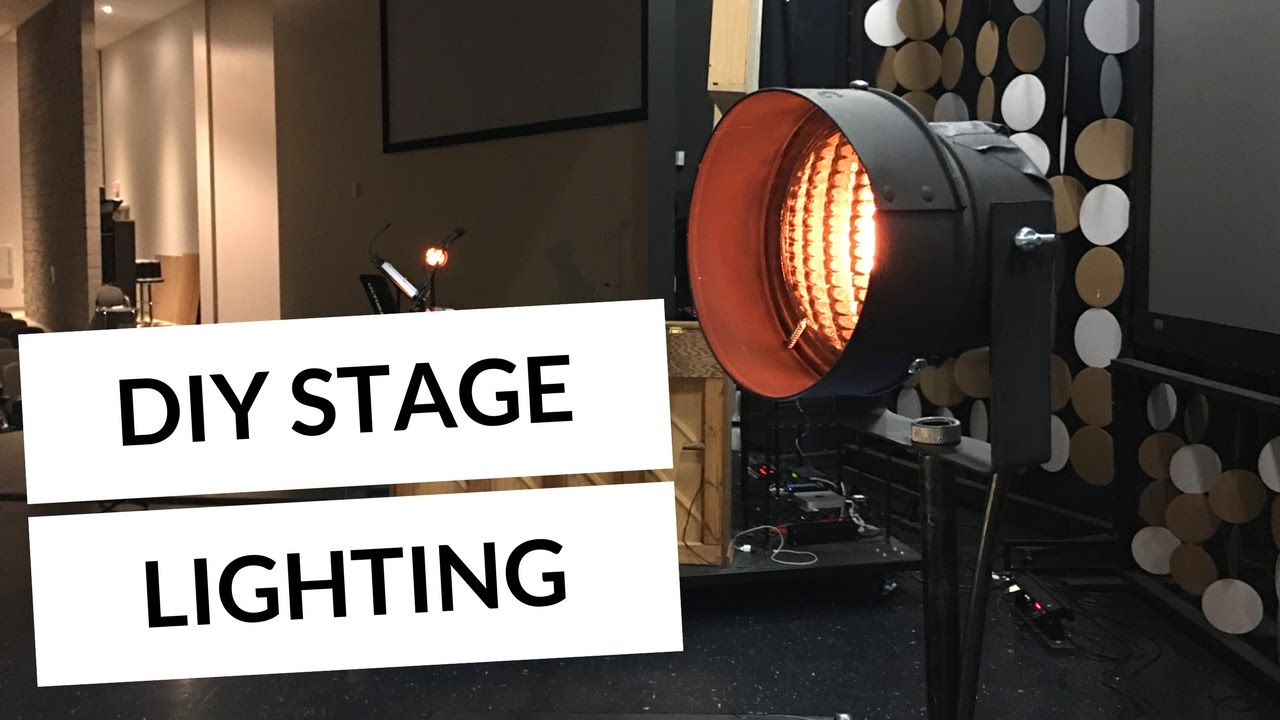How to light your worship band with DIY COTM Dewey stand