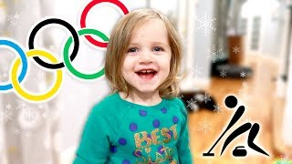 The First Baby Olympics - Curling with Chell