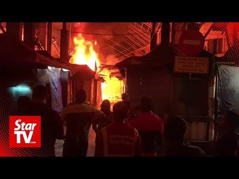 30 Masjid India stalls go up in smoke