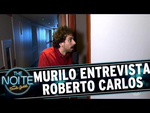 The Noite (15/09/16) - Murilo Couto faz entrevista EXCLUSIVA com Roberto Carlos