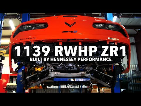1139 RWHP 2019 ZR1 Corvette Time-lapse Build By Hennessey Performance