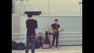 Street Live in Tachikawa Station (Sugar / Maroon 5)