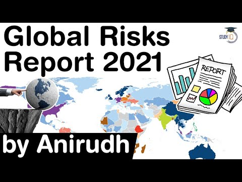 Global Risks Report 2021 by WEF - What are the biggest risks for the world in next decade?
