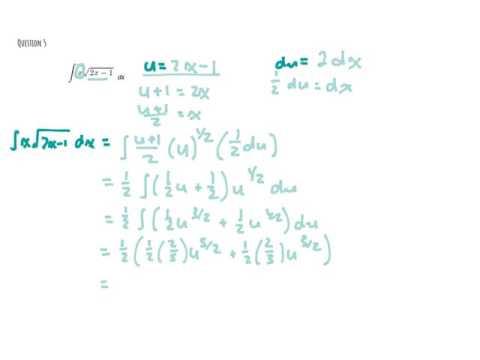 TRACE ACADEMY  AP Calc Integration Review