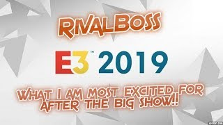 E3 Recap and Things I'm Excited for like Turbografx-16 Mini & Arcade 1up Teenage Mutant Ninja Turtle