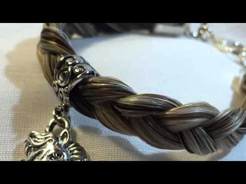 Custom Horse Hair Jewelry - by: Pen-Sational Fashions