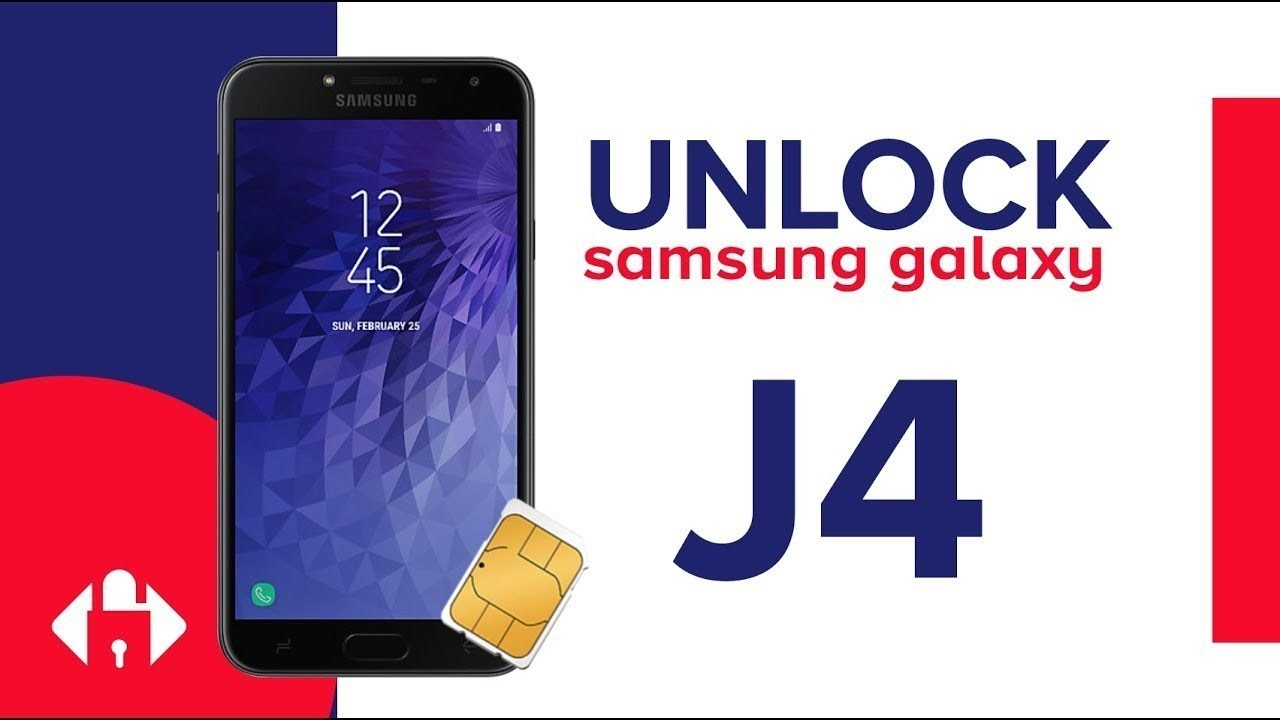 How To Unlock SAMSUNG Galaxy J4 and J4 Plus by Unlock Code