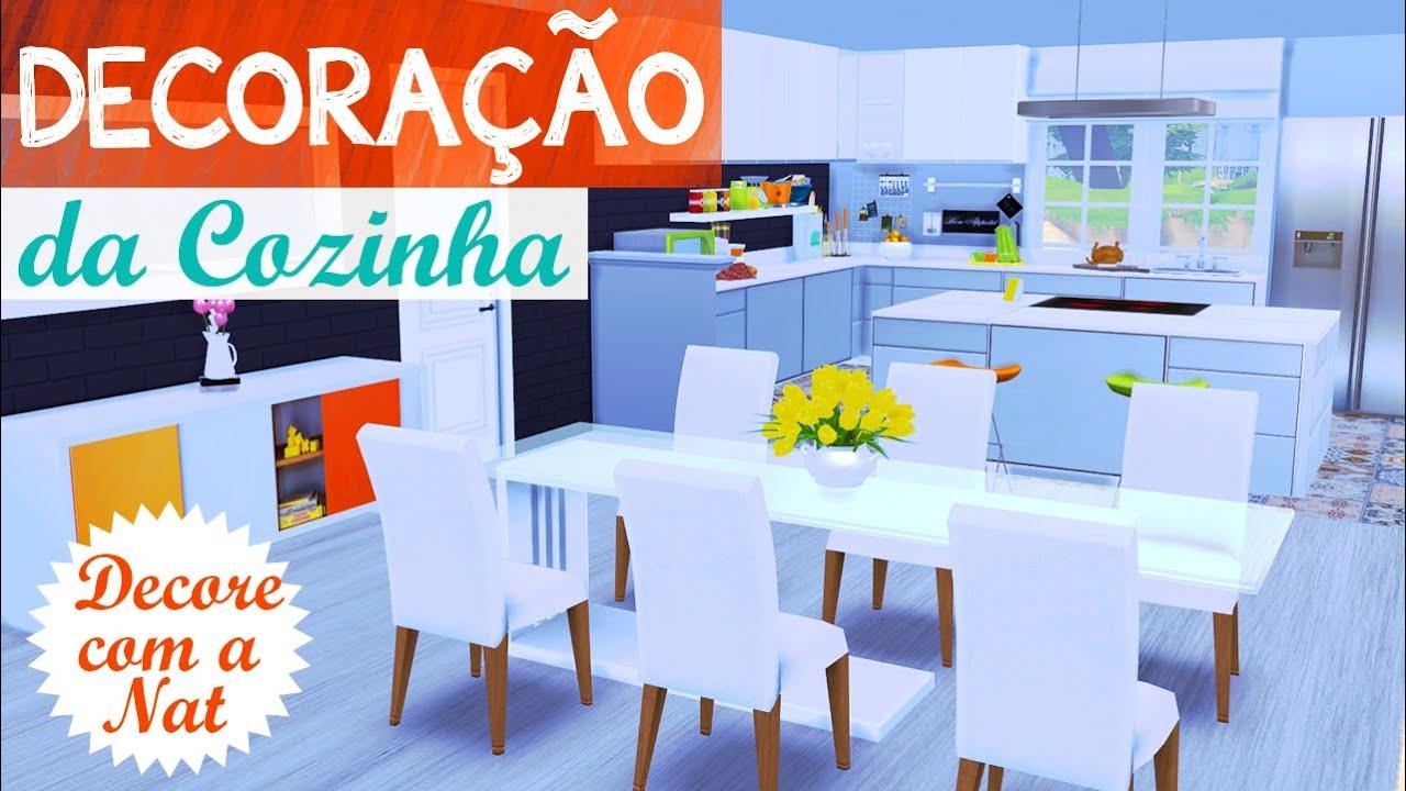Decora o da cozinha the sims 4 decore com a nat 4 for Sala de estar the sims 4