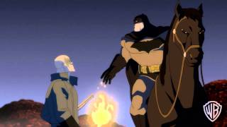 """Batman: The Dark Knight Returns, Part II -I Am the Law"""" with Peter Weller intro (clip)"""