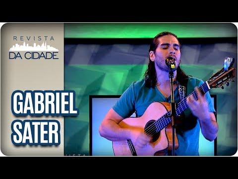 Entrevista E Musical: Gabriel Sater - Revista Da Cidade (30/03/18)