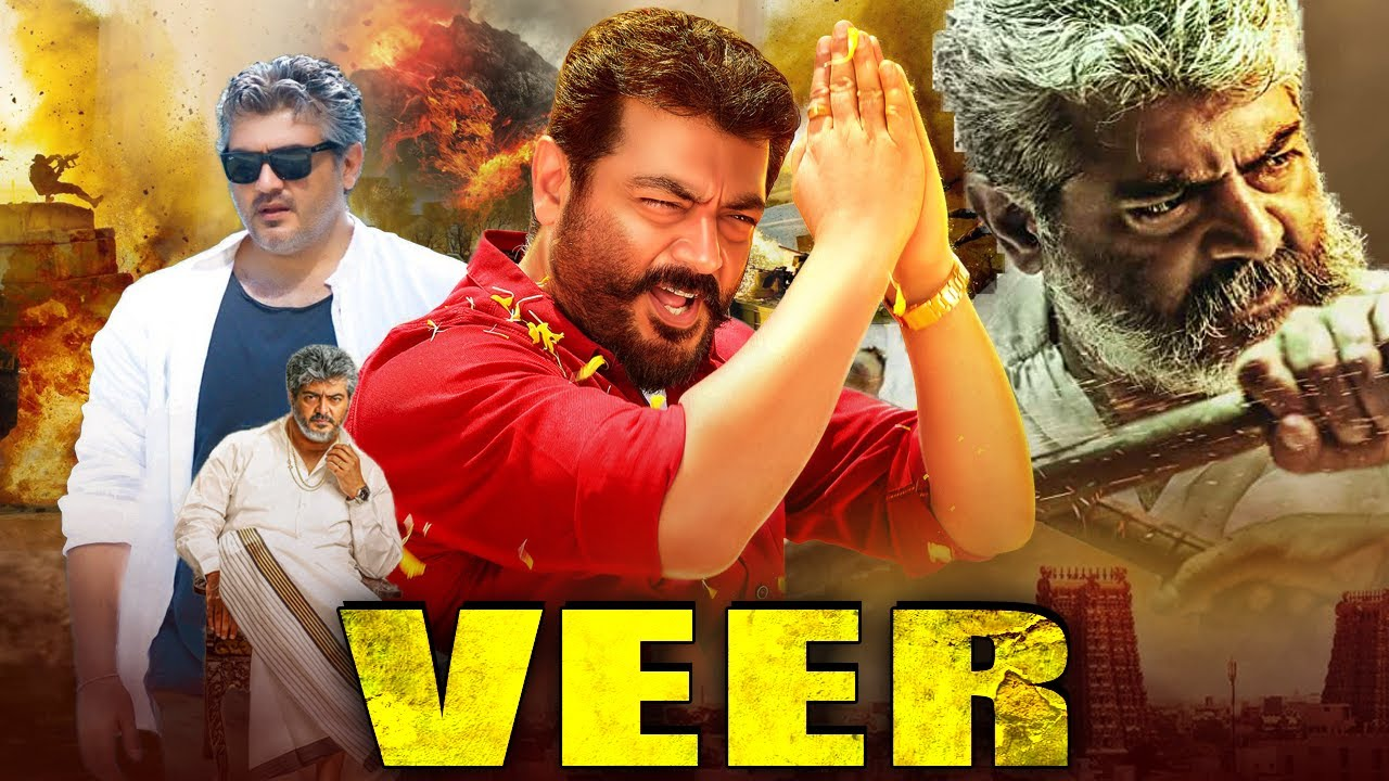 Download Veer Full South Indian Hindi Dubbed Movie | Ajith Kumar Movies In Hindi Dubbed