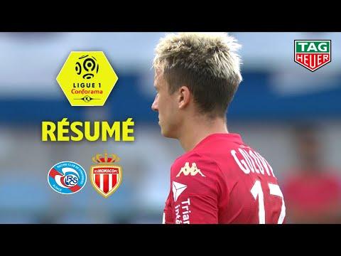 RC Strasbourg Alsace - AS Monaco ( 2-2 ) - Résumé - (RCSA - ASM) / 2019-20