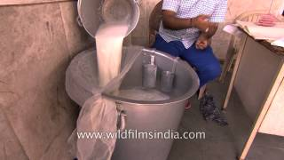 Indian dairy industry has to provide milk for 1.20 billion Indians