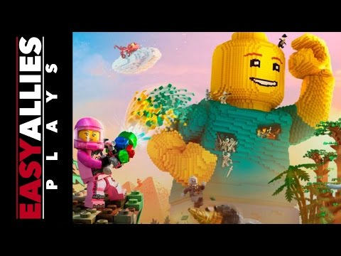 Brandon Plays LEGO Worlds - Part 1 - Build to Live, Live to Build