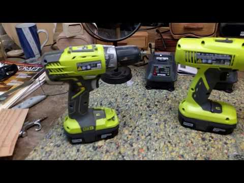 Ryobi drills. NiCad vs Lithium Ion: Which battery is better for cordless tools?