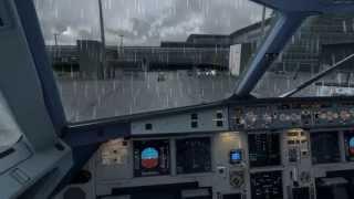 [P3Dv2 - HD] Approaching Oslo - Mega airport Oslo v2