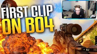FIRST CLIP ON BLACK OPS 4! (INSANE)