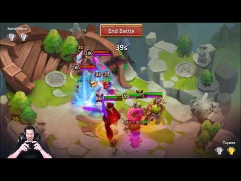 JT's Free 2 Play Best LBF Score Ever SICK Hero Trials Rewards Castle Clash
