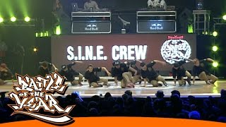 INTERNATIONAL BOTY 2014 - S.I.N.E. CREW (VNM) - SHOWCASE [BOTY TV]