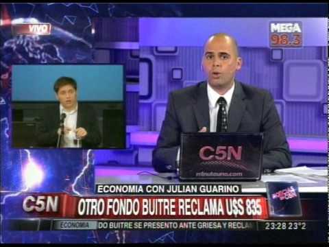 C5N - ECONOMIA: OTRO RECLAMO BUITRE PARA ARGENTINA